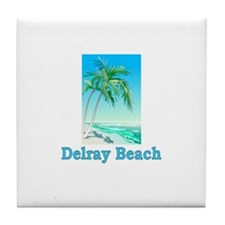 Delray Beach, Florida Tile Coaster