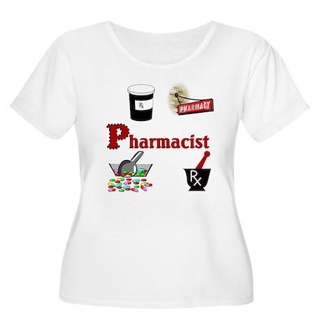 Pharmacist Women's Plus Size Scoop Neck T-Shirt