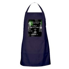 Going Ghost Adventures  Curtain Apron (dark)