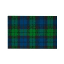 Black Watch Tartan Plaid Rectangle Magnet
