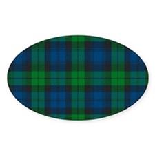Black Watch Tartan Plaid Decal