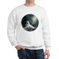 White Wolf and Pup Sweatshirt