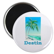 "Destin, Florida 2.25"" Magnet (100 pack)"
