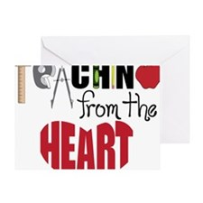 Teaching From The Heart Greeting Card