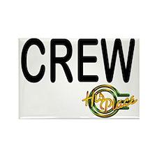 crew black lettering back GOOD Rectangle Magnet