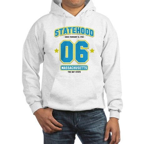 Statehood Massachusetts Hooded Sweatshirt