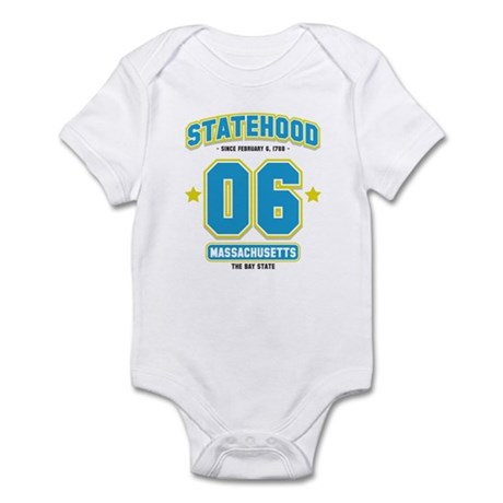 Statehood Massachusetts Infant Bodysuit