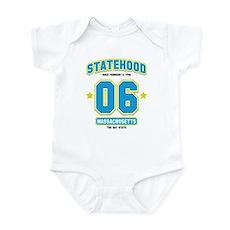 Statehood Massachusetts Infant Bodysuit
