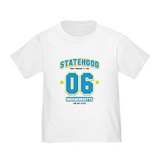 Statehood Massachusetts Toddler T-Shirt
