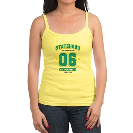 Statehood Massachusetts Jr. Spaghetti Tank