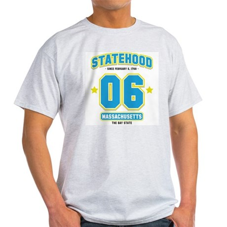 Statehood Massachusetts Light T-Shirt