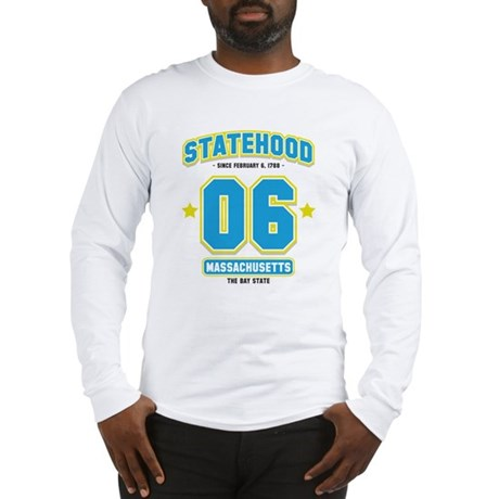 Statehood Massachusetts Long Sleeve T-Shirt