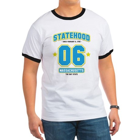 Statehood Massachusetts Ringer T