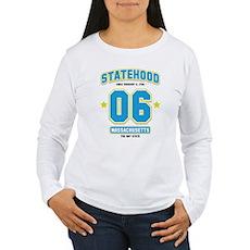 Statehood Massachusetts Women's Long Sleeve T-Shir