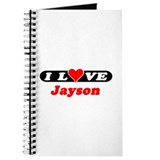 I Love Jayson Journal