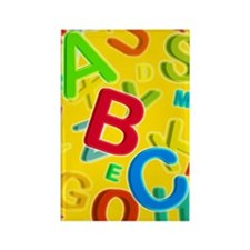 Alphabet Rectangle Magnet