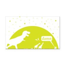 Noahs Ark Humor Rectangle Car Magnet