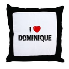 I * Dominique Throw Pillow
