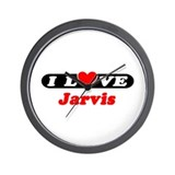 I Love Jarvis Wall Clock
