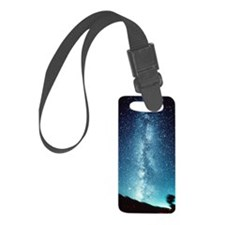 milky way Luggage Tag