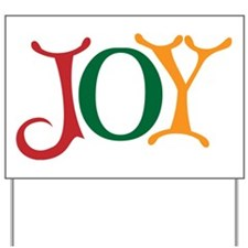 Holiday Joy Yard Sign