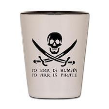 Witty Pirate Shot Glass