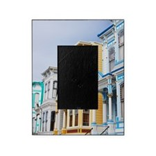colorful Victorian home in Mission D Picture Frame