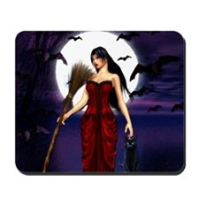 Under a Pagan Moon Mousepad