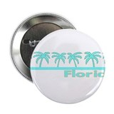 "Florida Turquoise Palm 2.25"" Button (10 pack)"