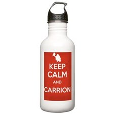 Keep Calm and Carrion Water Bottle