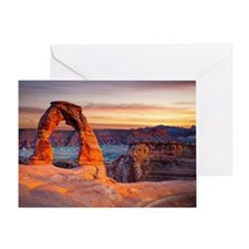 Delicate Arch, Arches National Park, Greeting Card