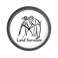 Land Surveyor Wall Clock