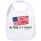 My Daddy is a Coastie. Bib