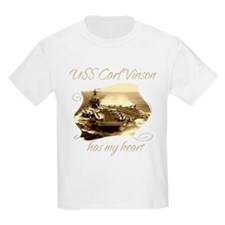 Cute Uss carl vinson T-Shirt