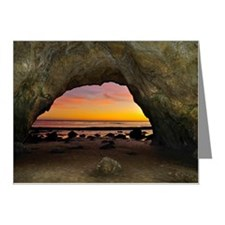 Dramatic sunset seen from in Note Cards (Pk of 10)