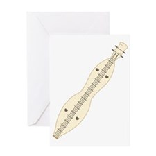 Dulcimer Greeting Card