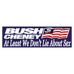 Bush-Cheney: Don't Lie About Sex!