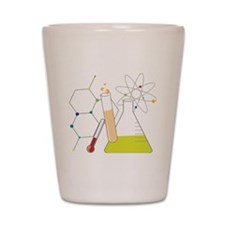 Chemistry Stuff Shot Glass