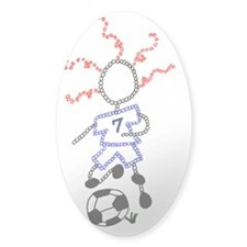 Soccer Player - ArtinJoy Decal