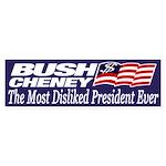 Bush-Cheney: Most Disliked President Ever