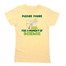 Please Pause Girl's Tee