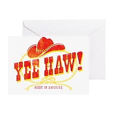 Yee Haw! Greeting Card
