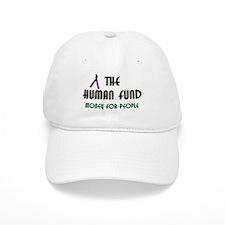 Ladies Human Fund Money For People Baseball Cap Seinfeld