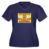 Isle Royale National Park (La Women's Plus Size V-