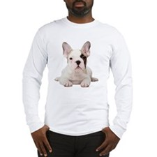 Fawn Pied French Bulldog puppy Long Sleeve T-Shirt