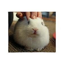 January - Bunny Bliss Throw Blanket