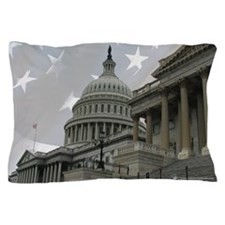 US Capitol 11partiotic Pillow Case