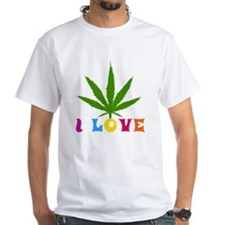 I Love Marijuana Shirt