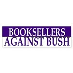 Booksellers Against Bush (bumper sticker)
