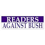 Readers Against Bush (bumper sticker)